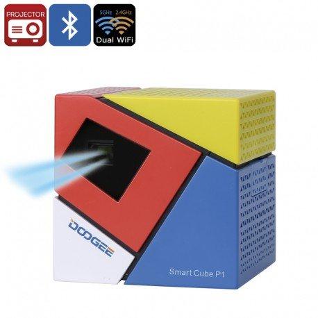 DOOGEE Cubo Inteligente P1 DLP proyector: Amazon.es: Electrónica