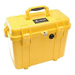 Pelican 1430 Camera Case With Foam (Yellow)