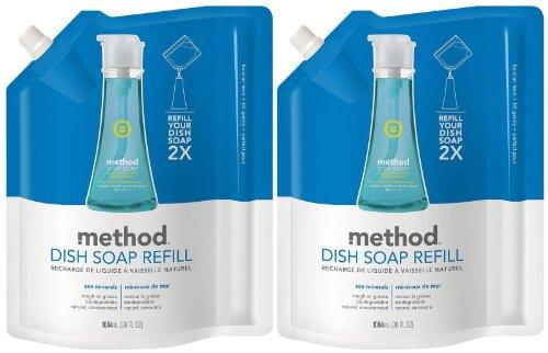 Method Dish Pump Refill - 36 oz - Sea Minerals - 2 - Carlsbad Mall