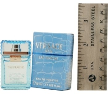Versace Man Eau Fraiche Edt .17 Oz Mini By Gianni Versace 2 pcs sku# 963643MA