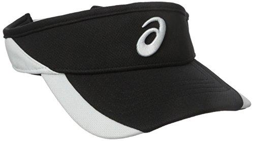 asics-golf-team-visor-black-white-one-size