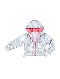 Kinderkind Girls Iridescent Active Jacket : Sizes 2T-3T-4T-5T-6-7