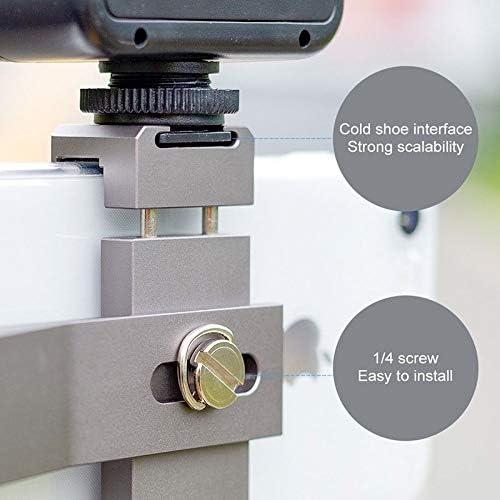 HUIFANGBU Multifunction Aluminum Alloy Smartphone Fixing Clamp Expansion Holder Bracket for DJI OSMO Pocket