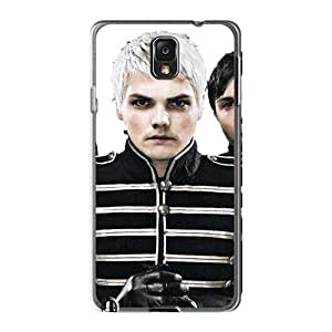 Samsung Galaxy Note3 XFB14836BjqV Support Personal Customs Colorful My Chemical Romance Band Pattern Bumper Phone Cases -ErleneRobinson