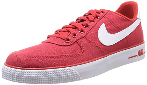 nike air force 1 AC mens trainers 630939 sneakers shoes (uk 8.5 us 9.5 eu 43, university red white 600) - Nike Air Force Trainers