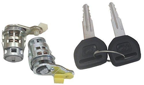 Well Auto Door Lock Cylinder Set -Tumbler with Key(L& R) for 96-00 Civic