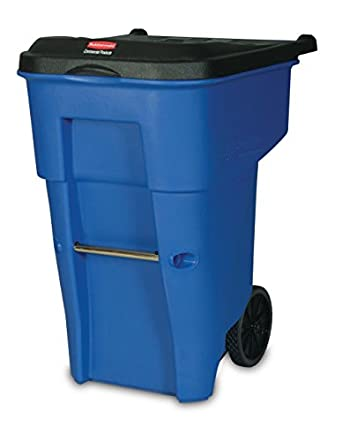 Amazoncom Rubbermaid Commercial BRUTE Recycling RollOut Trash Can