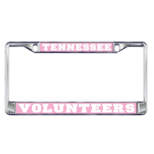 (Tennessee Domed_PlateFrame DOMED PINK TN METAL PLT FRAME)