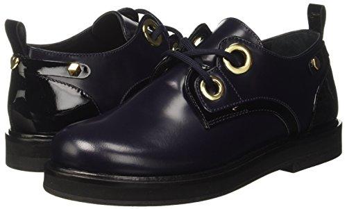 Milano Twinset Black Multicolore Chaussures blue nero bic Femme À 01725 Ca7tfs Lacets gqqdFU
