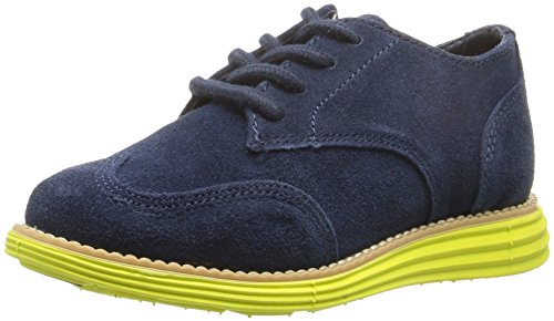 Cole Haan Kids' Grand Nvy Sde-Wasabi GN Oxford