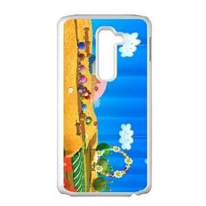 LG G2 Cell Phone Case White_Yoshi's Woolly World_021 Bxokp