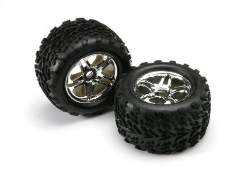 (Traxxas 5174R Talon Tires Pre-Glued on 3.8
