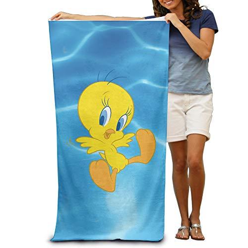 VogueDIY Looney Tunes Tweety Bird Beach Towel 31.5x51.2 Inches/80x130cm