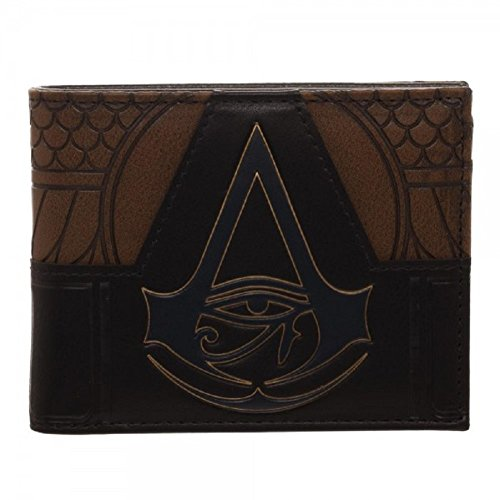 Assassins Creed Origins Suit Up PU Faux Leather Bifold Wallet -