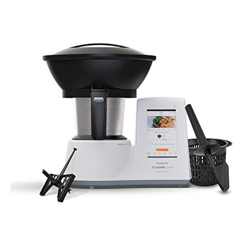 chollos oferta descuentos barato Taurus Mycook Touch Unlimited Edition Robot de Cocina wifi 1600W 2L hasta 140 grados multifunción más de 10 000 recetas Vaporera 2 niveles y cestillo Blanca