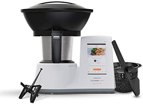 Taurus Mycook Touch Unlimited Edition – Robot da cucina, Wi-Fi, 1600 W, 2 L, fino a 140 gradi, multifunzione, oltre 10.000 ricette, vapore 2 livelli e cestello