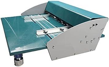 """18/"""" 460mm Metal Electrical Creasing Machine Creaser Scorer Perforating Paper DHL"""