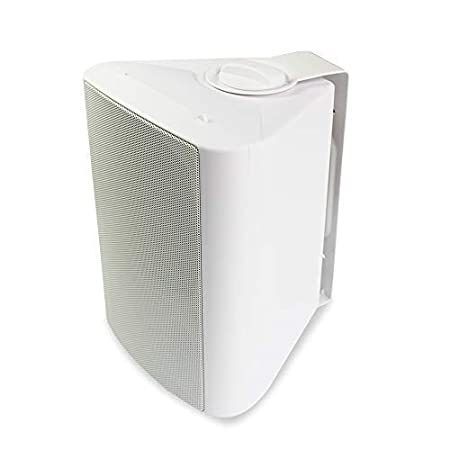 Herdio 4 Inches Indoor Outdoor Speakers Waterproof Patio Deck Wall Mount Speakers