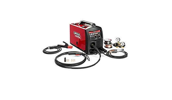 Amazon.com: Lincoln Electric K3461-1 140 Amp LE31MP Multi-Process Stick/MIG/TIG Welder: Health & Personal Care