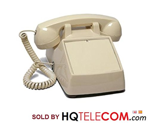 No Dialpad, No Dial Receive-Only Desktop Phone with Ringer - Old Fashion, Traditional Style, Color (Traditional Desk Phone)