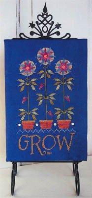 (Grow Cross Stitch Chart)
