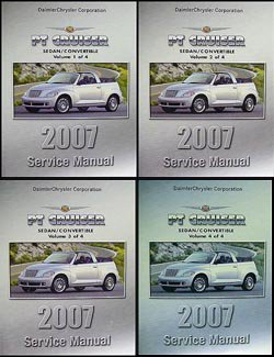 2007 pt cruiser owners manual - 6