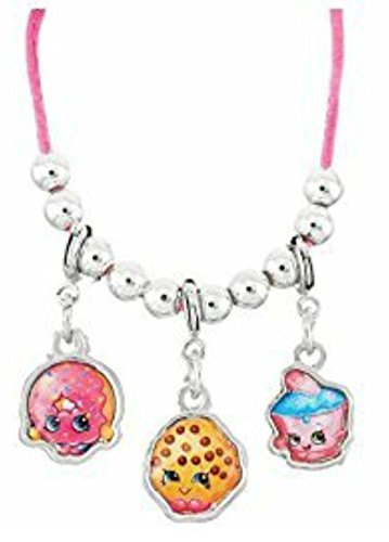 Limited Shopkins Charm Bracelet For Birthday Kids Gift-(Asst style) by Moose (Asst Charms)