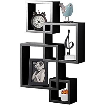Amazon Com Danya B Br1023es Intersecting Cube Shelves