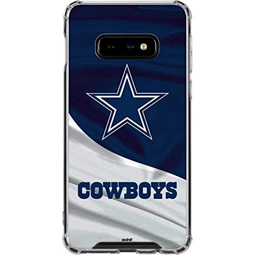 Case Cowboys Phone Cell - Skinit Dallas Cowboys Galaxy S10e Clear Case - Officially Licensed NFL Phone Case Clear - Transparent Galaxy S10e Cover