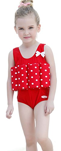Kids Float Suit with Safety Adjustable Buoyancy one Piece Swimwear Swimsuit for 1-10 Years Boys and Girls FBA – DiZiSports Store