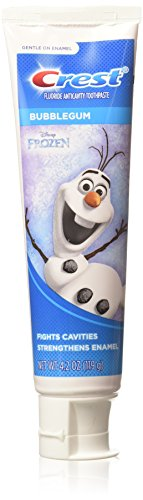 Price comparison product image Crest Kid's Toothpaste,  Disney's Frozen,  4.2 Ounce