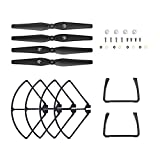 #2: Holy Stone HS100 and HS100G Black RC Drone Quadcopter Spare Parts Accessories Blades Kits