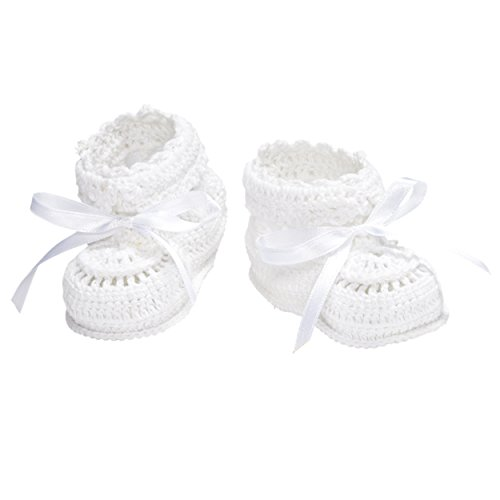 Elegant Baby Crochet Booties Newborn product image