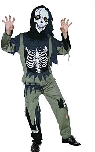 Disfraz esqueleto zombie niño - De 9 a 10 años: Amazon.es ...