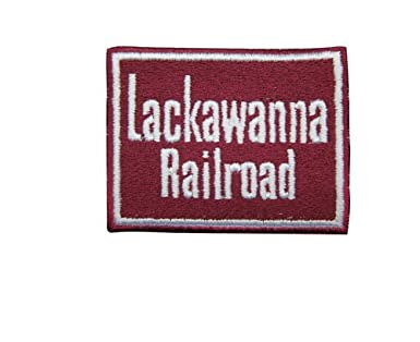 Lackawanna /& Western Short Sleeve Embroidered Denim Delaware den31SS