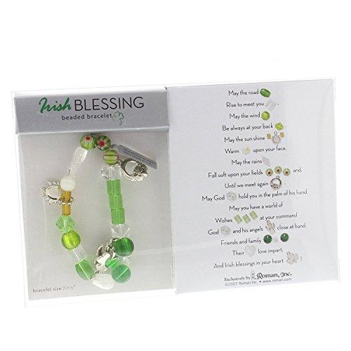 Bracelet Beaded Irish (Stories of Faith Beaded Bracelet - Irish Blessing)