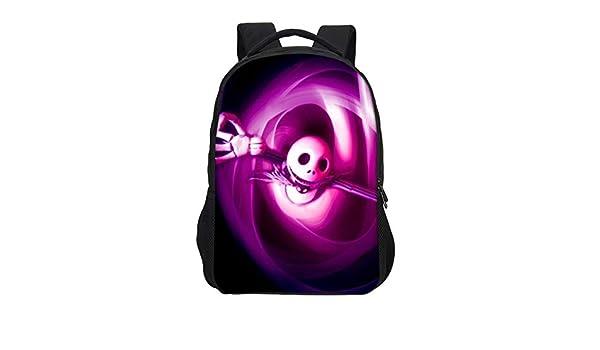 Amazon.com: CHITOP Brand Cartoon Anime Nightmare Before Christmas, Printing Backpacks Boys Girls School Bags Teenage Bookbag Mochila Escolar (Dark Grey): ...