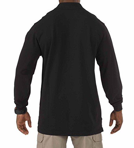 5.11 Tactical Professional LS Polo Shirt - Black - Large