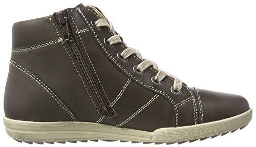 Josef Seibel Dany 06, Sneaker a Collo Alto Donna Braun (Moro)