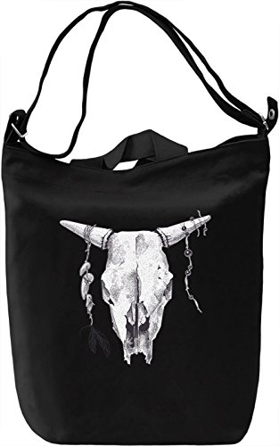 Animal skull Borsa Giornaliera Canvas Canvas Day Bag| 100% Premium Cotton Canvas| DTG Printing|
