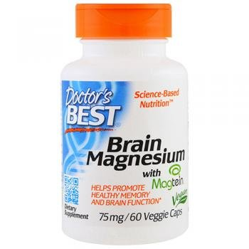 Doctors Best - mejor cerebro magnesio 150 mg. - 60 cápsulas vegetarianas