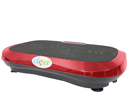 NEW Ultraslim Red Crazy Fit Full Body Vibration Platform Massage Machine Fitness