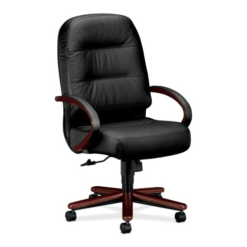HON Pillow-Soft Executive High-Back Swivel Chairs-Exec High Back Chair,26-1/4