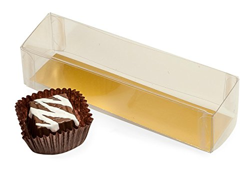 Box Truffle Favor 2 (Pack of 10, 3.5 x 1.25 x 1.25