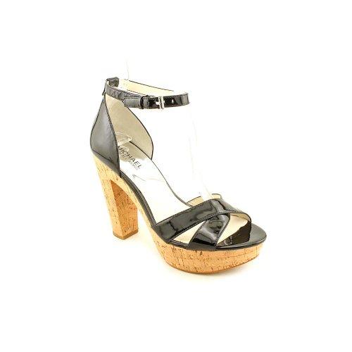 Michael Kors Camilla Platform Womens Size 7 Black Patent Leather