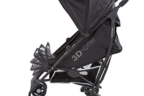 Summer Infant 3D-one Convenience Stroller, Eclipse Gray by Summer Infant (Image #4)