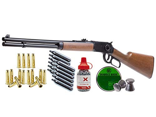 Legends Umarex Cowboy Lever Action Rifle Dual Ammo Kit air Pistol