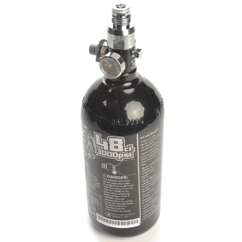 (Valken Paintball 48ci/3000psi Paintball HPA Tank - DOT/TC)