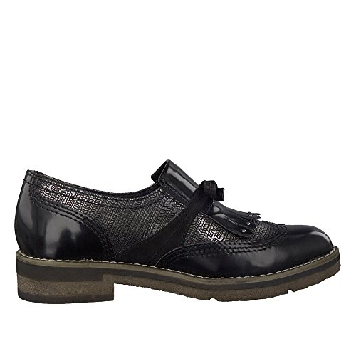 Noir TAMARIS Femme 24313 Mocassins Slippers v0q0xP6R