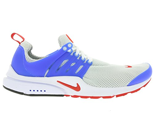 Nike Para Hombre Air Presto Essential Dusty Gray / University Red / Hyper Cobalt